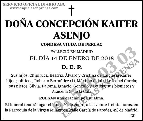 Concepción Kaifer Asenjo